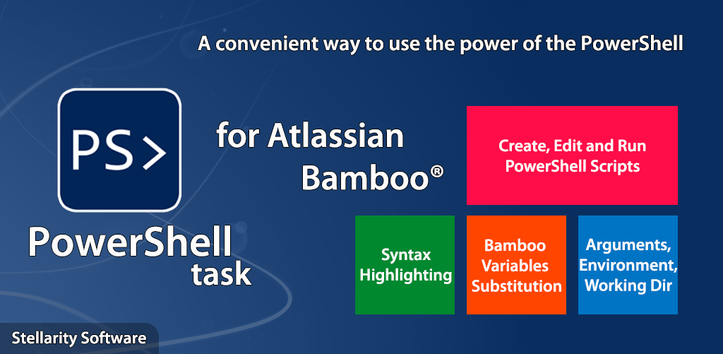 PowerShell Task for Bamboo | Stellarity Software